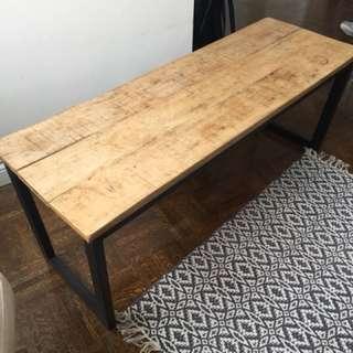 Rustic/Modern Coffee Table
