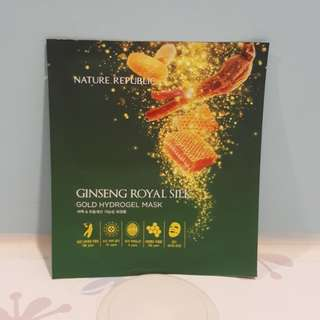 Ginseng Royal gold Hydrogel mask