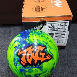 Undrilled 13lbs Motiv Tag Canon Bowling Ball