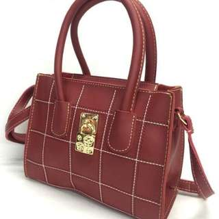 Sling bag size : 7*9 inches