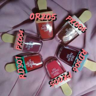 ETUDE HOUSE DEAR DARLING TINT ICE CREAM RD307 WATERMELON RED