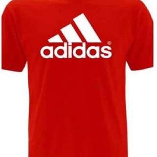 Adidas shirt size : XS-XL 💯cotton american size