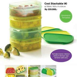 Cool stackable