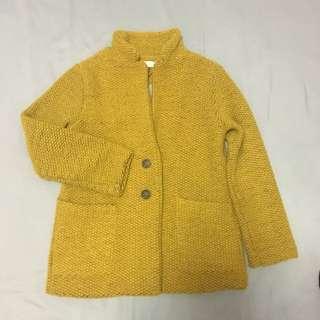 Winter Wool Jacket Zara Girls Size 9/10