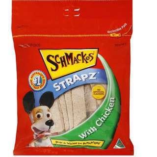 Dog Treats - Schmackos Strapz 500g