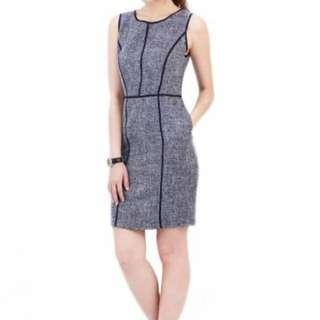 Sheraton Piped Dress