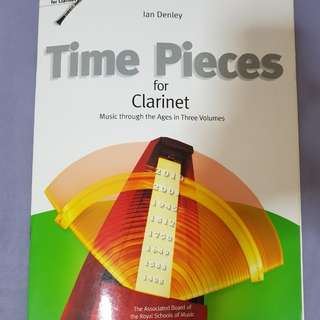 Time pieces for Bb clarinet, volume 3