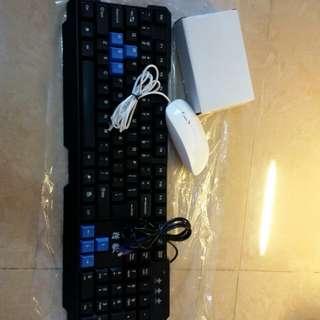 健盤+mouse