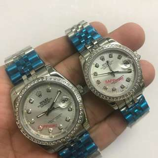Rolex date just couple watch