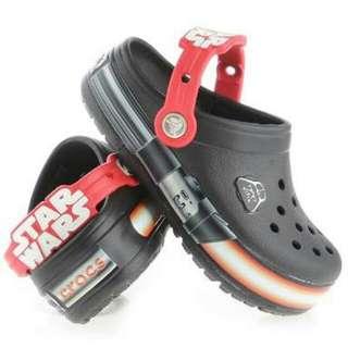 Authentic Crocs Light Star Wars
