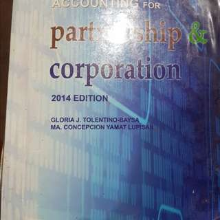 Partnership and Corporation by Baysa and Lupisan