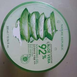 92% Aloe vera