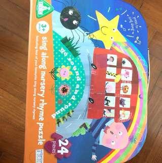 ELC Sing along nursery rhyme puzzle