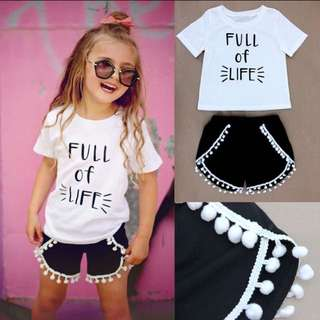PRE ORDER Baby girl clothes sets