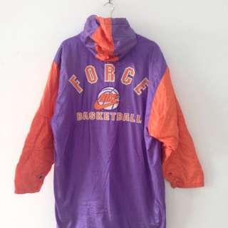 Vintage Nike Basketball Long Windbreaker Jacket