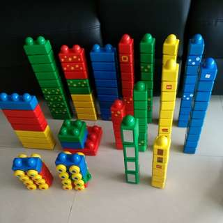 Preloved authentic vintage lego duplo primo bricks