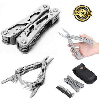 24 Tools in One Multi Tool Pliers Convenient Trim Kitchen Lederman Camping