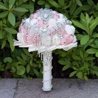 luxury Chrystal bridal bouquet