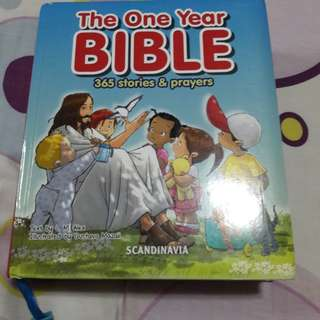 The one year BIBLE 365 stories and prayers