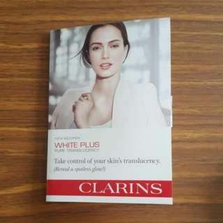 Clarins White Plus sample set