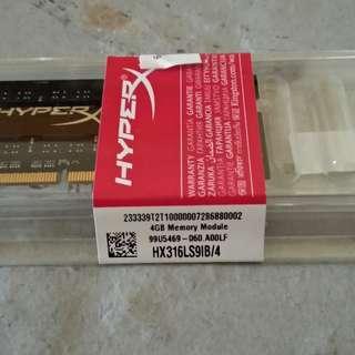HyperX Impact DDR3L-1600 SODIMM 4GB