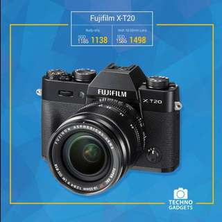 Brand New & Authentic FUJIFILM X-T20
