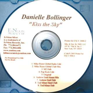 Danielle Bollinger - Kiss The Sky remixes