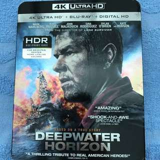 4K Ultra HD Blu-Ray Deepwater Horizon