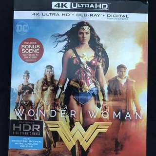 4K Ultra HD Blu-Ray Wonder Woman