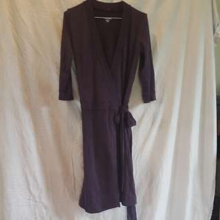 Mac Merino wrap dress