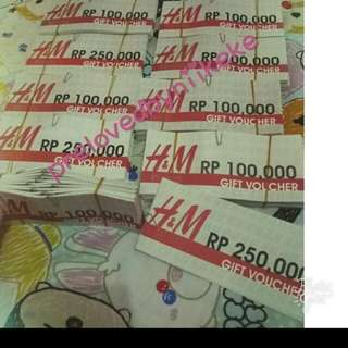 Sale!  Voucher HnM PIK Avennue