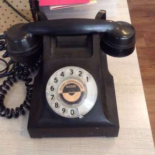 Vintage Rotary dial phone- working condition