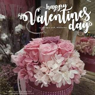 Preserved Flowers - Valentine's Day