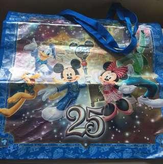 Tokyo Disney 25 Anniversary 購物袋