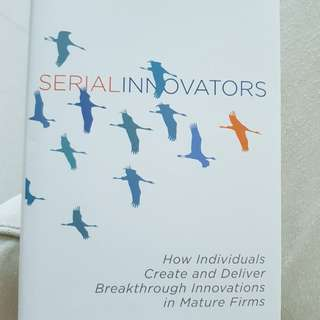 Serial Innovators by Griffin Price and Vojak