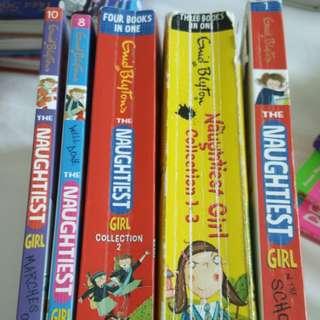 Naughtiest Girl Collection enid blyton