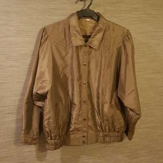 Large bomber Jacket/ lightweight jacket