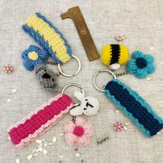 Flower keystrap