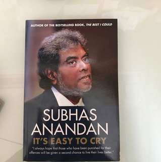 Subhas Anandan- It is easy to cry