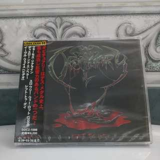 Japan CD Obituary - Left To Die EP