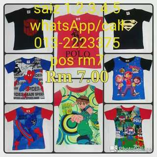 Baju baru satu RM7..../kalau beli borong satu RM5...0132223375