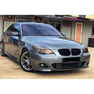 BMW E60 525i MSPORT LCI SAMBUNG BAYAR / CONTINUE LOAN
