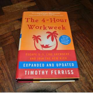 The 4-Hour Workweek (Hardcover) by Timothy Ferriss (Shipping Included)