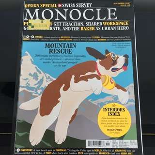 Monocle Swiss Magazine