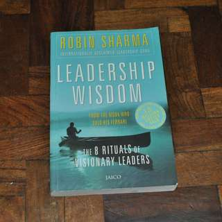 Leadership Wisdom by Robin Sharma (Shipping Included)