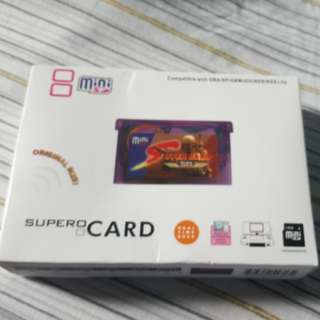 SUPERCARD MINISD for GBA