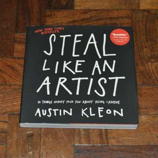 Steal Like An Artist by Austin Kleon (Shipping Included)