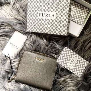 Authentic Furla Babylon Zip Around Wallet