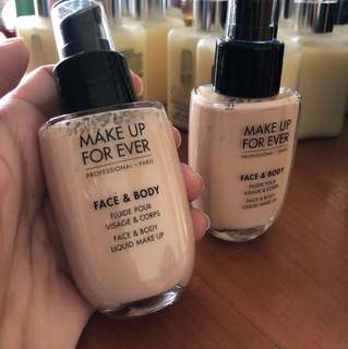 Authentic Make Up For Ever - Face & Body Liquid Foundation #38 50ml