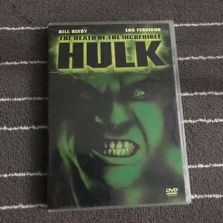 The Death of the Incredible Hulk Movie DVD